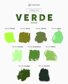 Shades of green: shades and incredible ideas for using color in decoration Colour Schemes, Color Trends, Wallpaper Verde, Pintura Exterior, Art Corner, Color Palate, Design Seeds, Silhouette, Baby Decor