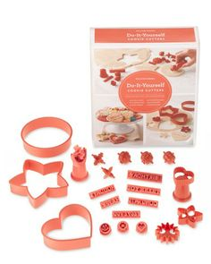 Do-it-yourself cookie cutters. Williams-Sonoma.