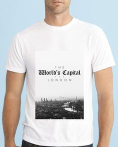London City, Instagram Posts, Clothing, Mens Tops, T Shirt, Products, Fashion, Outfits, Supreme T Shirt