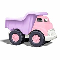 Love the gender bending truck from Green Toys