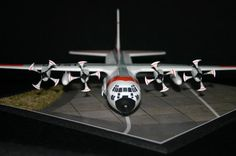 Timothy Powell C130H model using PropBlurs to simulate propellers in motion from PropBlur.com Model Airplanes, Gallery