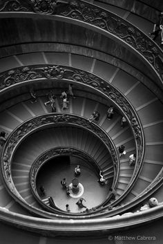 Spiral staircase, Vatican City