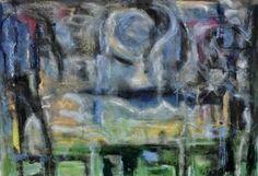 "Saatchi Art Artist lawnspeak mark; Drawing, ""picnic under a daytime moon"" #art"