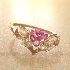 Cute Promise Rings, Cute Rings, Pretty Rings, Beautiful Rings, Hand Jewelry, Cute Jewelry, Jewelry Rings, Crystal Engagement Rings, Dream Engagement Rings