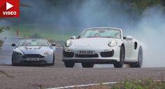 S-Badged Drop Tops: Porsche 911 Turbo S vs Aston Martin V12 Vantage S