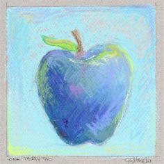 """DAY 132(5/12/13) """"The New Blue""""  Another Spondy Apple! REPIN and spread awareness of ankylosing spondylitis."""