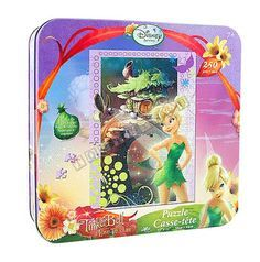 New Sealed Disney Fairies Tinkerbell 250 pc Jigsaw Puzzle With .