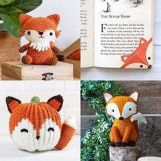 Fox Crafts, Cute Fox, Cute Diys, Craft Kits, Crochet Hats, Cold, Pattern, Free, Knitting Hats