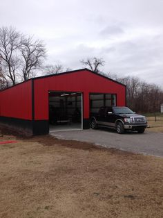 30 39 x 40 39 x 16 39 garage at menards pole barns pinterest for Lean to garage addition