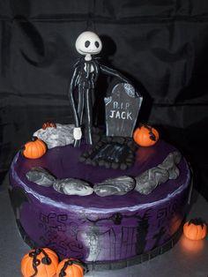 Nightmare before christmas cake  Cake by Debbie Bowers