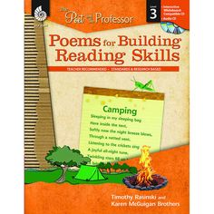 Capture the interest of 3rd grade readers with poetry that is fun to read and perform! Coauthored by well-known fluency expert, Timothy Rasinski, this incredible book for Grade 3 students encourages f Reading Response, Reading Fluency, Reading Intervention, Guided Reading, Reading Resources, Reading Skills, Reading Strategies, Poetry For Kids, Teaching Poetry