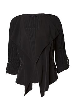 TUNIKA MARIELLE Ruffle Blouse, Jackets, Beauty, Tops, Women, Fashion, Tunics, Down Jackets, Moda