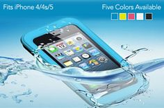 """Know someone who constantly drops their phone in weird places, especially in liquid? Make sure you head on over to Eversave, create a free account or login, and choose """"ATLANTA"""" as your city to pick up this No-Leak, Waterproof Defender Case for iPhone 4/4s and 5 for Only $12.00 (Reg. $70)! Make sure you choose [...]"""