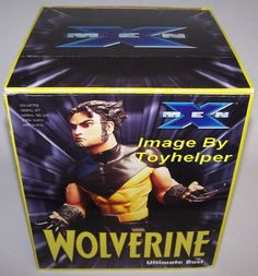 X-Men Wolverine Ultimate Bust Diamond Select Statue Figure NIB Only 7,500 Made