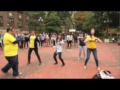 UMICH Gangnam Style Flash Mob-Remember to have #fun throughout the #Grad school process, it is the easiest way to avoid burnout.