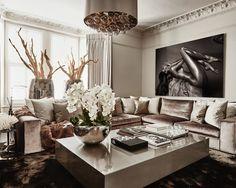 The United Kingdom / London / Private Residence / Living Room / Cobra Art / Eric Kuster / Metropolitan Luxury