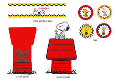 Kit festa tema Snoopy