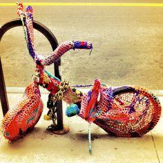 Kinderfahrrad - Knit Graffiti