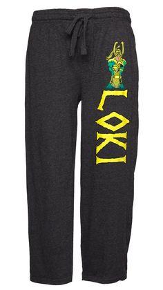 Marvel Comics Loki Lounge Pants (X-large)