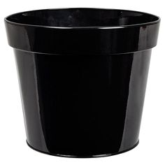 Blomkruka svart stor