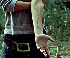 Expressions on body: 20 inspiring latin quote tattoos - Blog of Francesco Mugnai