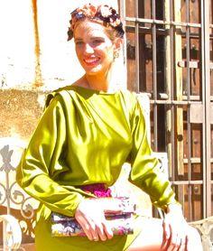 #teresabaca #tocado #Cherubina #flores #boda