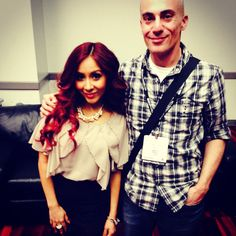 Me & Snooki at the #magic clothing convention.  Total sweetheart!
