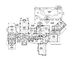 Italian Style Floorplan - First Floor