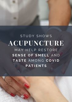 This is great! #AcupunctureWorks #Acupuncturebenefits #COVID19treatment
