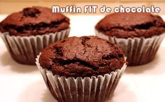 Muffin de chocolate - Receitas Fit - Powered by @ultimaterecipe