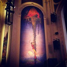Jack and the Beanstalk at #museodelbarrio #newyork #children #fantasy #fairytale #painting