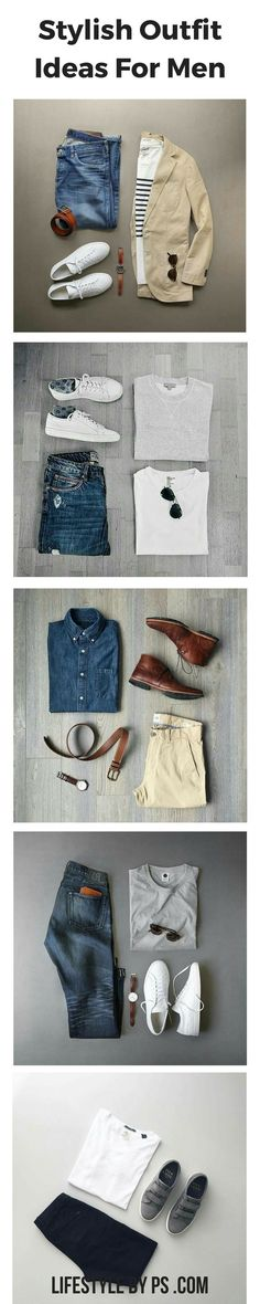Stylish Outfit Grids for men #mens #fashion #style #outfitgrids #finemen'swatches
