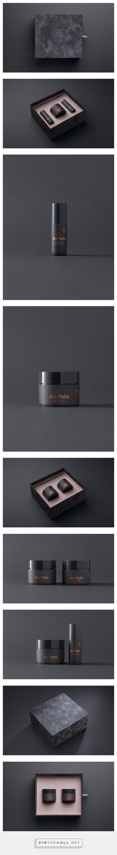 àla Palla Cosmetics Packaging by Studio Goat | Fivestar Branding Agency – Design and Branding Agency & Curated Inspiration Gallery #packaging #packagingdesign #packagedesign #package #design #designinspiration #Cosmetics