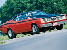 1971 Plymouth Duster Project Nova Side View Photo 5