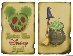 Free printables available to make your own Disney Inspired spell book. Perfect for any Halloween display, you& be under the Disney spell too! Halloween Spell Book, Halloween Spells, Halloween Displays, Halloween Crafts, Halloween Ideas, Halloween Party, Halloween 2019, Scary Halloween, Halloween Apothecary
