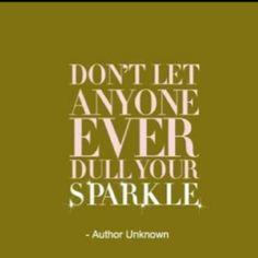Sparkle sparkle sparkle!
