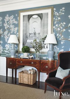 From the palest baby blue to the deepest blues of a winter sky, these 40 rooms make a solid argument for a case (or a whole house) of the blues.