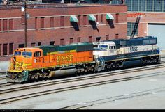 RailPictures.Net Photo: BNSF 245 BNSF Railway EMD SD75M at Denver, Colorado by BUFFIE