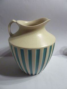 Vintage Hornsea pottery John Clappison Water jug Studio craft