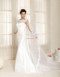 Ujjatlan Cipzár Természetes Menyasszonyi ruhák 2015