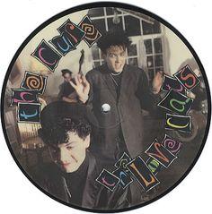 """Resultado de imagen para The Cure llamado """"The Lovecats""""."""