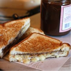 rosemary apple grilled cheese.