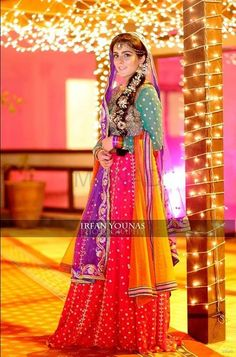new bridal mehndi dress 2015 Pakistani Mehndi Dress, Bridal Mehndi Dresses, Pakistani Wedding Dresses, Pakistani Bridal, Pakistani Outfits, Bridal Outfits, Indian Bridal, Indian Dresses, Desi Bride