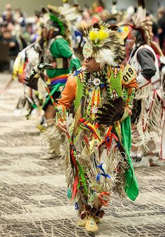 Men's Northern Traditional. 2012 Hunting Moon Pow Wow by Paul Gowder, via Flickr