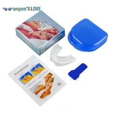 Stop Snoring Solution Anti Snore Soft Silicone Mouthpiece Good High Quality Night Sleeping Apnea Guard Bruxism Tray
