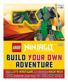 Look at this LEGO Ninjago Build Your Own Adventure Set on #zulily today!
