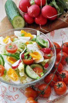 Salad Recipes, Dessert Recipes, Desserts, Lidl, Cobb Salad, Sweet Tooth, Grilling, Salads, Vegetables