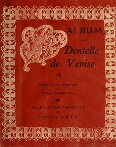 Album de Dentelle de Venise