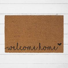 Welcome Home| Welcome Doormat | Home Decor | Housewarming Gift | Outdoor Rug | Coir Door mat