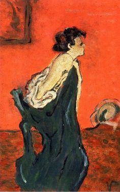 Edouard Vuillard, Marthe Mellot, 1891-1892